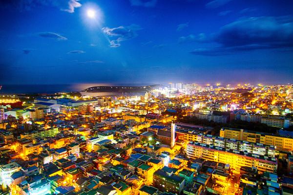 Seaside village in Ulsan, South Korea