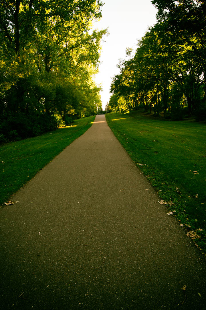 I grew up playing on this path.